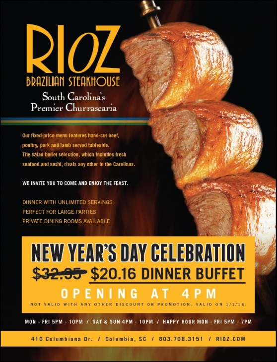 Rioz New Years Celebration Deal