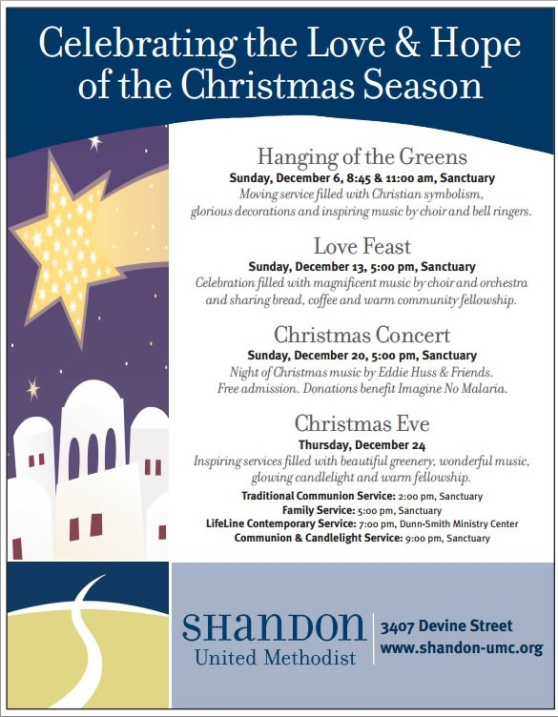 Shandon UMC Events