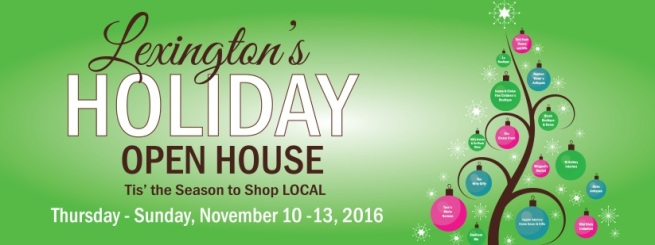 Lexington Holiday Open House