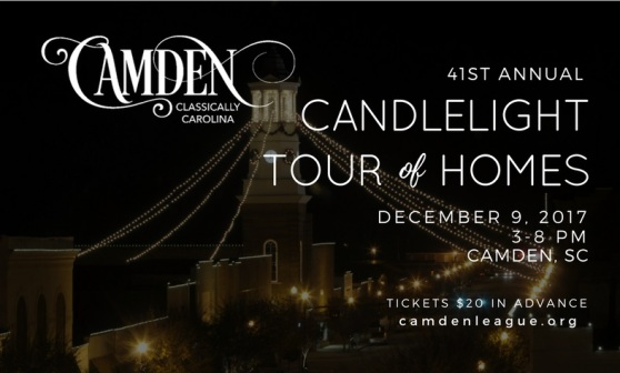 Camden Junior Welfare Leauge (Candlelight Tour of Homes) Ad