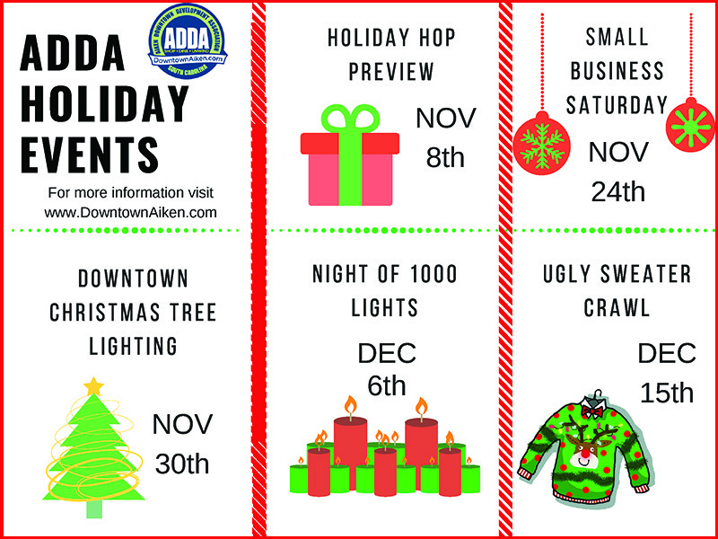 ADDA Holiday events